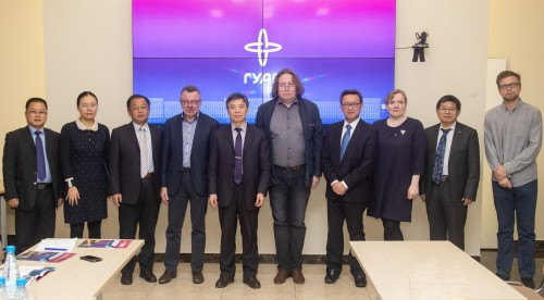 SUAI Meets Anhui University Of Technology (PRC)