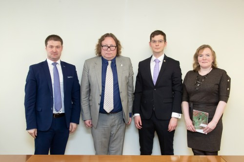 SUAI Meets Hungarian Consul for Trade and Economic Affairs